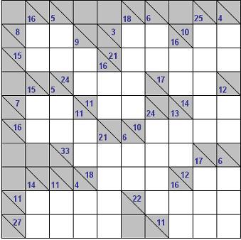 Easy kakuro puzzle here s your free printable kakuro puzzle
