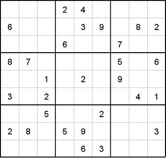 There's again a free printable Sudoku puzzle for you including